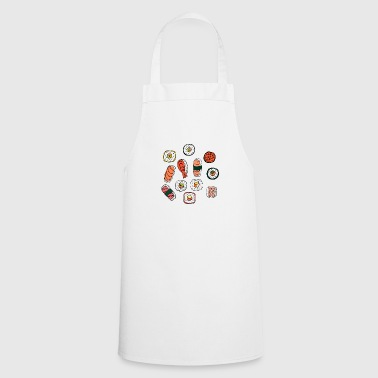 Sushi I Love Sushi Asian Cuisine Fast Food - Cooking Apron