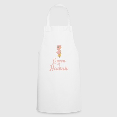 Hawaii flower girl - Cooking Apron