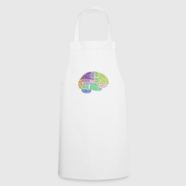 Region The regions of the brain - Cooking Apron