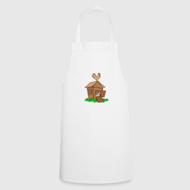 Chicken coop chicken farm poultry gift idea - Cooking Apron