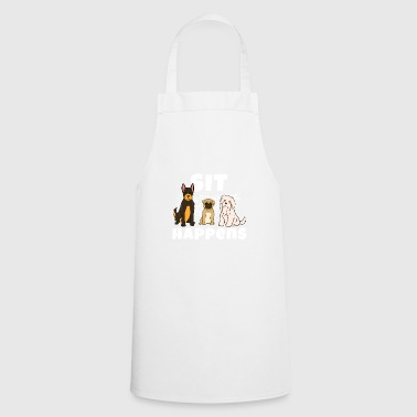 Dog masters trick dogs training - Cooking Apron
