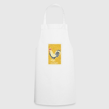 Chicken Rooster Mexican Lotto Lottery Bingo - Cooking Apron