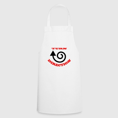Turn direction - Cooking Apron
