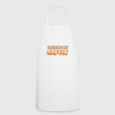 Grilling me Softly BBQ apron as a gift - Cooking Apron