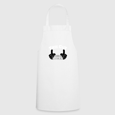 This guy needs a beer - Cooking Apron
