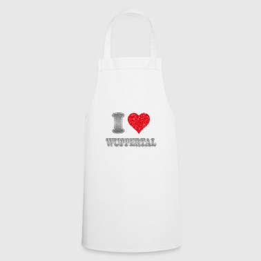 I love Wuppertal with heart - Cooking Apron