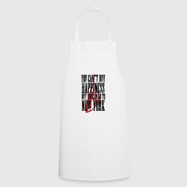 New Zealand New York America USA T-Shirt - Cooking Apron