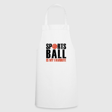 Sports de balle - Tablier de cuisine