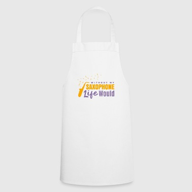 Saxophone music concert gift - Cooking Apron