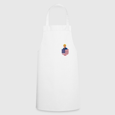 Democrat Democratic Clinton in a Stars and Stripes Pocket - Cooking Apron