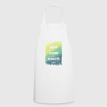 Fearless - Cooking Apron
