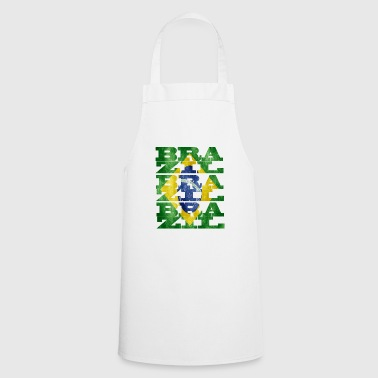 brazil south america city continent soccer idea - Cooking Apron