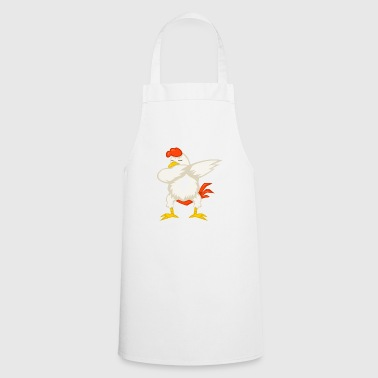 Dabbing dab chicken chickens chicken coop gift - Cooking Apron