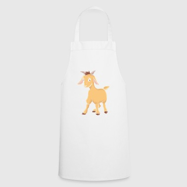 Goat goats goat animals farmer gift - Cooking Apron