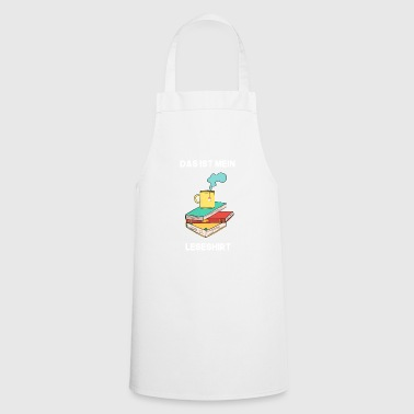 Reading shirt children - Cooking Apron