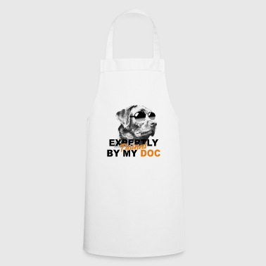 Trained expertly by my dog - Cooking Apron