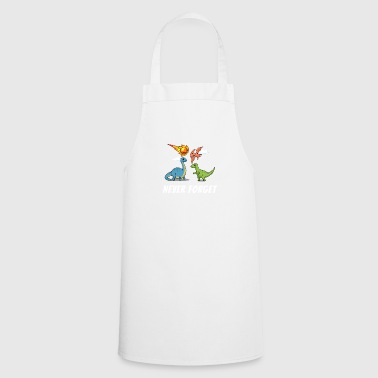 Dino Dinosaur Stone Age Carnivore T-Rex - Cooking Apron
