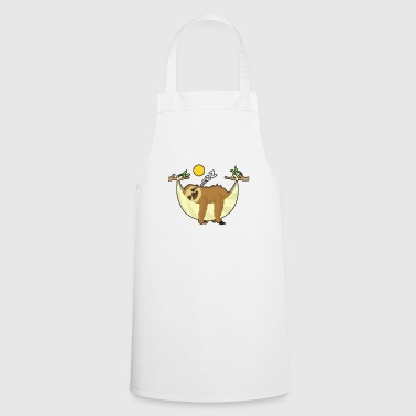 Sloth Series Chiller Serial Chiller Gift - Cooking Apron