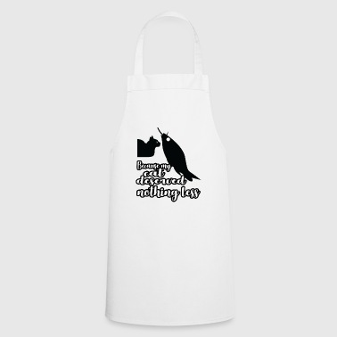 Cat saying Cat Kitten Kitty Cat Hangover - Cooking Apron