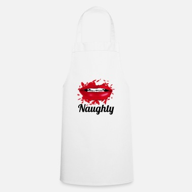 Girl naughty lips - Cooking Apron