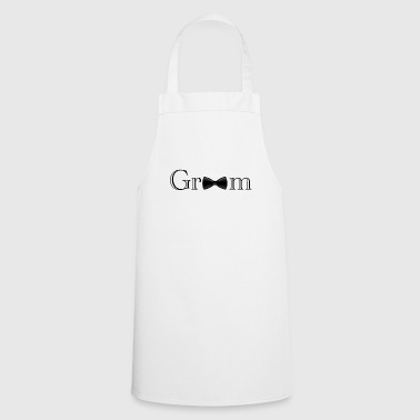 Groom Groom - groom - Cooking Apron