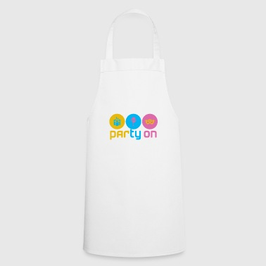 Party on - Cooking Apron