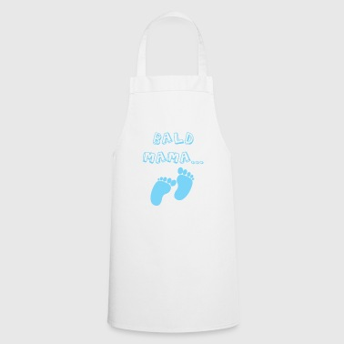 Soon mom baby birth boy pregnancy - Cooking Apron