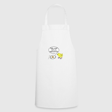 Holy cow. Larry is that you?!?! - Cooking Apron