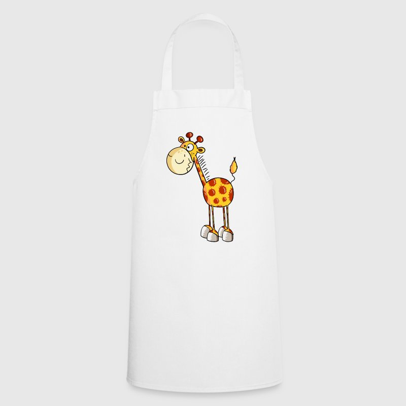Funny Giraffe - Giraffes - Cartoon - Animal - Cooking Apron