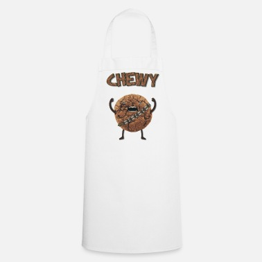 Chewbacca  Funny Nerd Humor - Chewy Chocolate Cookie Wookiee - Cooking Apron