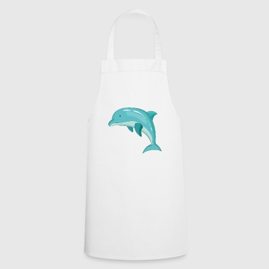 Dolphin mammal marine animal - Cooking Apron