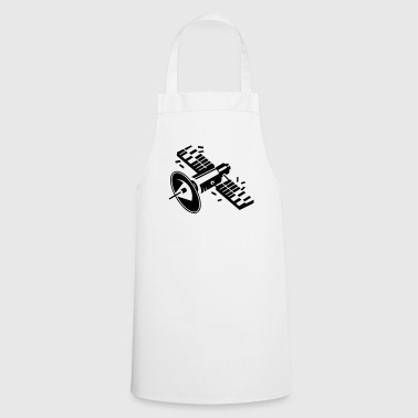 A satellite in orbit - Cooking Apron