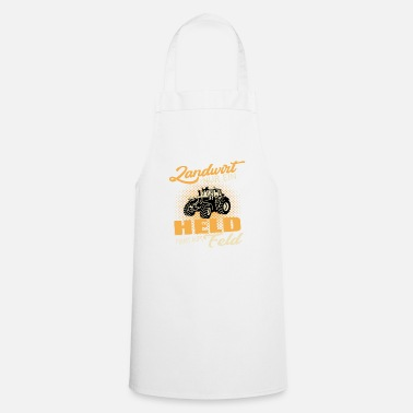 Tractor Farmer hero - Cooking Apron