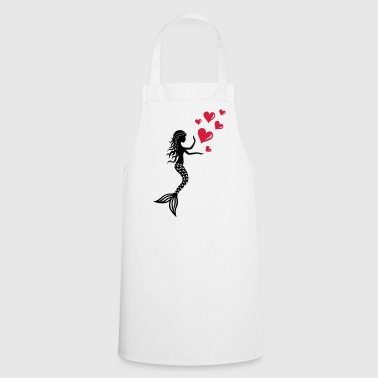 Mermaid mermaid mermaid Valentine's Day mermaid - Cooking Apron
