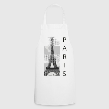 Tabliers tour eiffel commander en ligne spreadshirt for Tablier de cuisine paris
