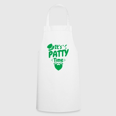 It's Patty Time - St. Patrick's Day Shirt Gift - Cooking Apron