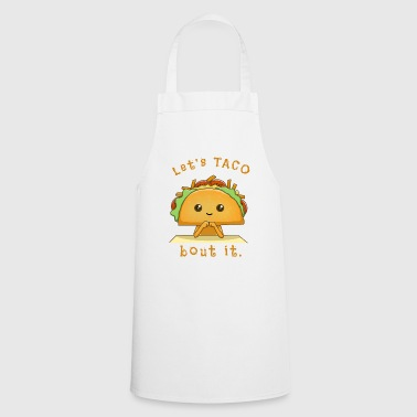 Takeaway funny taco design - Cooking Apron