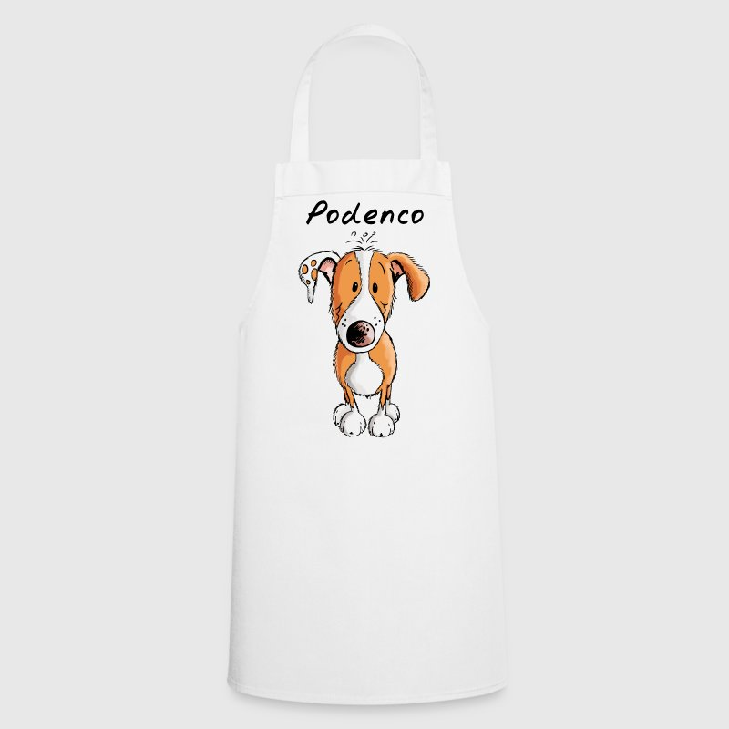 Podenco Dog - Dogs - Comic - Puppy - Cooking Apron