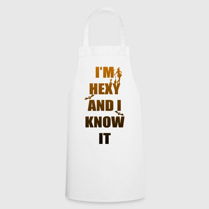 I'm hot and I know it - Cooking Apron