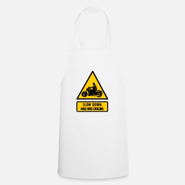Hog slow down: hogs herd crossing - Cooking Apron