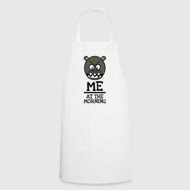 Good morning Brummbär - ME AT THE MORNING - Cooking Apron