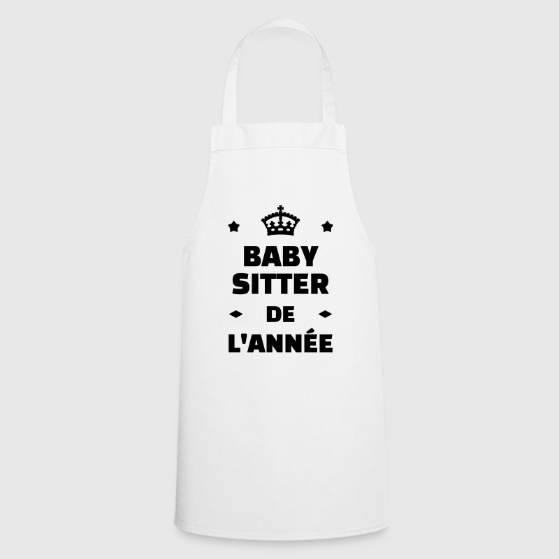 babysitter babysitting baby sitter baby sitting cooking apron