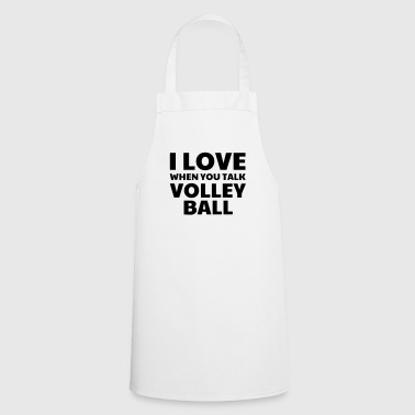 Volleyball - Volley Ball - Volley-Ball - Sport - Grembiule da cucina