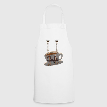 coffee shop - Cooking Apron