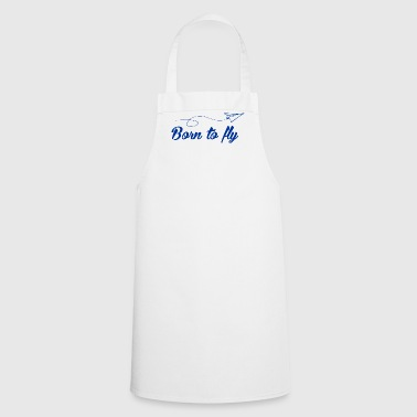 Aviation Born to fly - Cooking Apron