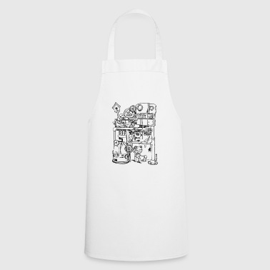 Robin Robin the robot and just bird - Cooking Apron