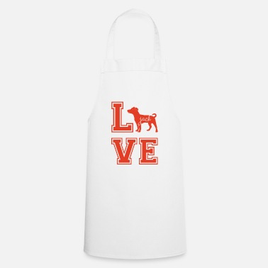 Jack Dog / Jack Russell: Love Jack - Cooking Apron