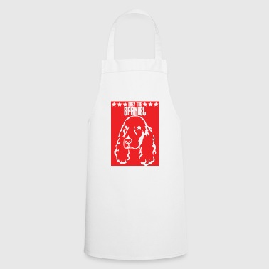 Dog / Cocker Spaniel: Obey The Spaniel - Cooking Apron