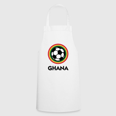 Football Crest Of Ghana - Cooking Apron