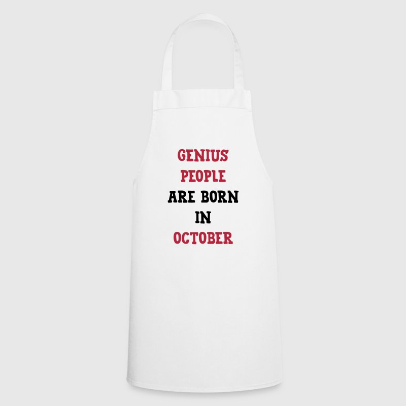 Genius People / October/ Birthday / Baby / Birth - Cooking Apron